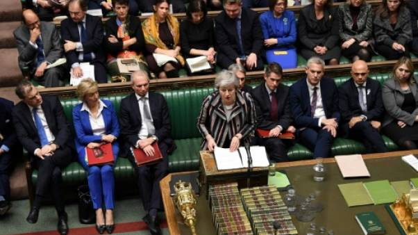 Theresa May appelle le Parlement à voter l'accord de Brexit