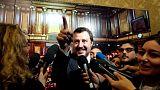 Italy discussing reducing 2019 deficit target