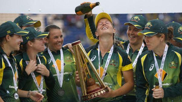 Cricket - Women give cheer to Australia in annus horribilis