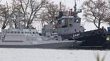 Russia resists Western calls to free captured Ukrainian ships