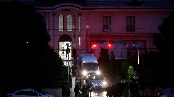 شرطة تركيا تفتش فيلا خارج اسطنبول ضمن التحقيق في مقتل خاشقجي