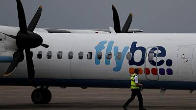 Flybe shares soar on report of IAG entering takeover race