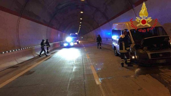Incidente pulman, team baske in ospedale
