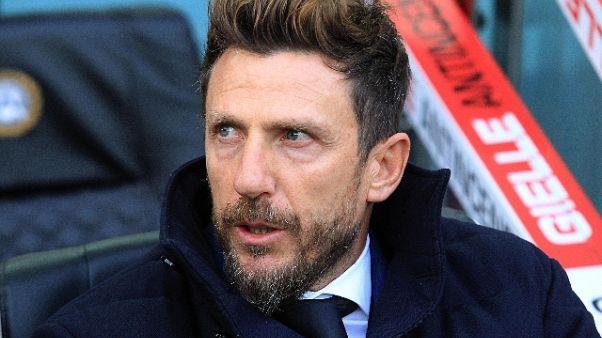 Di Francesco, Real per cancellare Udine