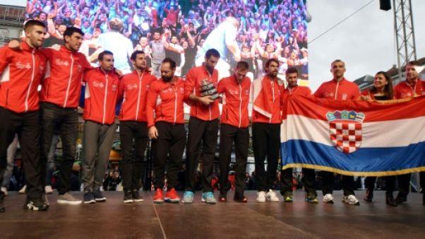 Coupe Davis: les Croates acclament leurs champions à Zagreb