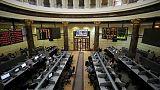 البورصة المصرية تتراجع للجلسة الخامسة وقطر ترتفع بدعم من البنوك