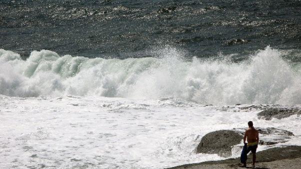 Forte vento in Sardegna, allerta gialla