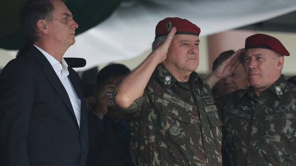 Brazilian president-elect adds fifth military man to cabinet