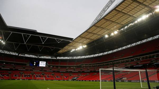 Wembley pitch OK for play despite rough state, says UEFA