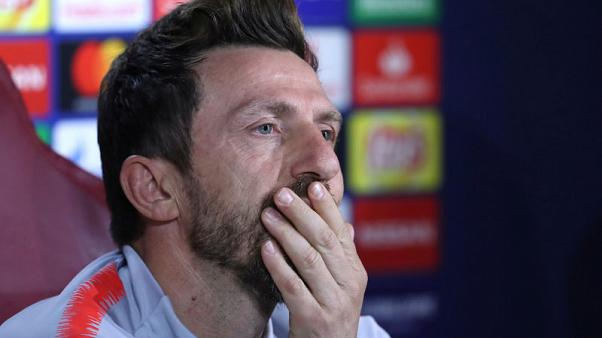 Roma players lacked determination, says coach