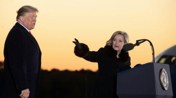 Trump repart en campagne, au secours d'une républicaine dans le Mississippi