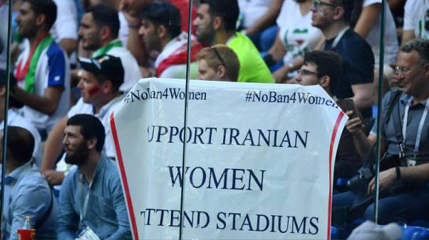 FIFA urged by own rights body to give Iran deadline for allowing women into stadiums
