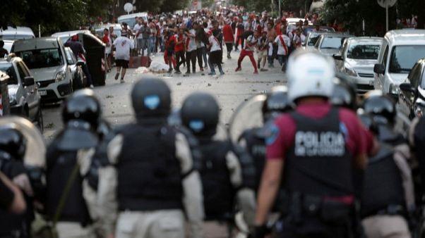 Argentina pushes anti soccer hooligan bill after Boca-River melee