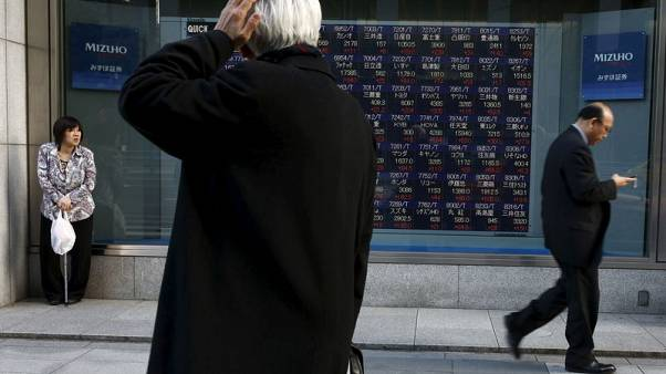 Asia mood soured by Trump tariff threat, oil slips anew