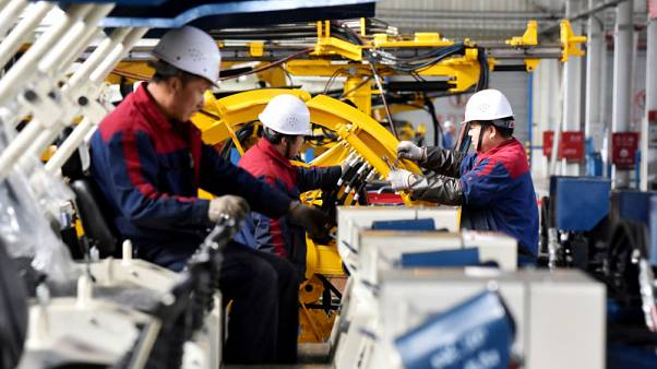 China's industrial profits cool again in October