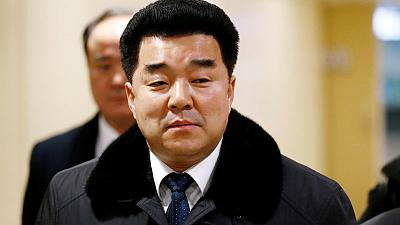 Olympics - North Korean sports minister allowed into Japan for meetings