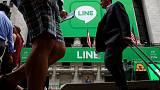 Japan's Line jumps 17 percent after Nikkei reports Tencent tie-up