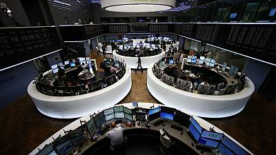 European shares dip as focus turns to Sino-US trade dispute