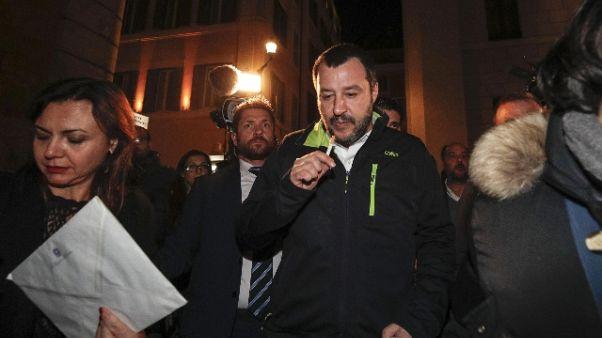 Salvini, nessun nuovo documento alla Ue