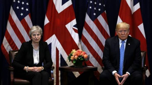 Brexit: Trump savonne la planche de Theresa May