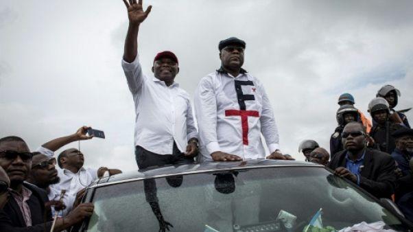 Elections en RDC: Tshisekedi salué par la foule pendant cinq heures