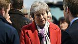 Brexit : Trump savonne la planche de Theresa May, qui riposte