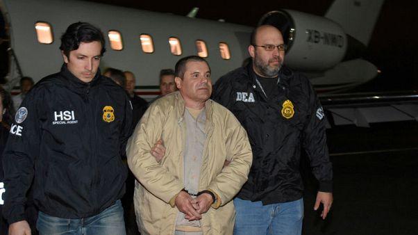 U.S. prosecutors claim 'El Chapo' had unauthorised contact with wife