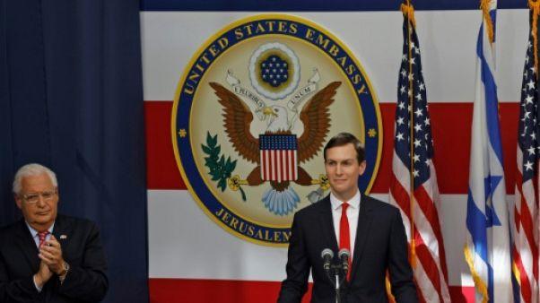 Le plan de paix américain pour le Proche-Orient dévoilé début 2019, selon Israël