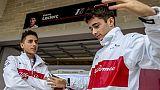 F1:Leclerc 'primo giorno tutto di Rosso'