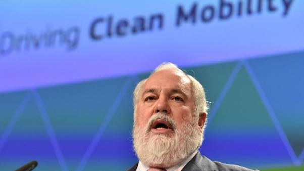 EU's climate chief calls for bloc to go for net-zero emissions by 2050