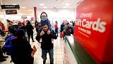 Fewer Americans shopped during Thanksgiving weekend in 2018