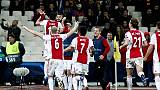 Champions: 2-0 all'Aek, Ajax a ottavi