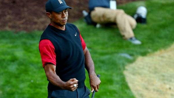 Coach Tiger Woods coming to your living room next year