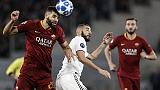 Champions: Roma-Real Madrid 0-2