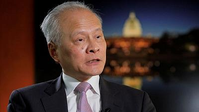 Exclusive: China will retaliate 'in proportion' to any U.S. sanction over Muslim Uighurs - ambassador