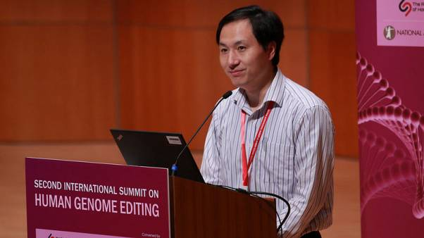 Chinese geneticist apologises for leak of baby-gene editing result