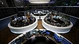 European shares in tentative rebound as trade angst eases