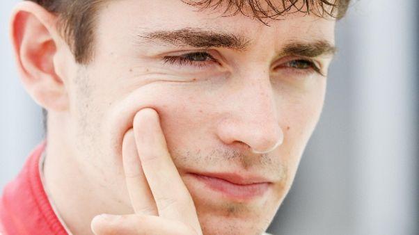 Test Abu Dhabi, Leclerc-Ferrari show