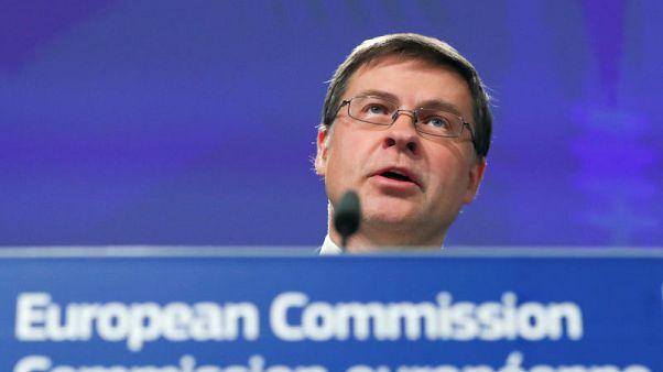Italian budget needs 'substantial correction' - EU's Dombrovskis