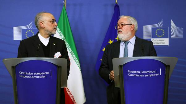 EU reiterates commitment to Iran nuclear deal in talks with Zarif - EU