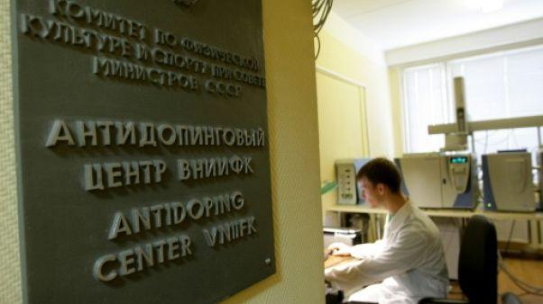 Un technicien du laboratoire antidopage de Moscou, le 23 septembre 2009