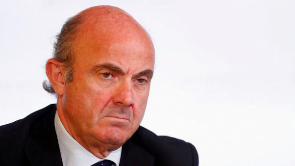 Euro zone growth broad-based but trend is weak - de Guindos