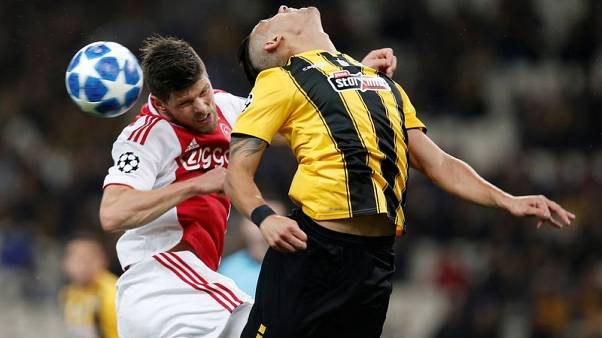 AEK, Ajax charged by UEFA over Champions League crowd trouble