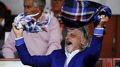 Italian police investigate Sampdoria, its president over funds