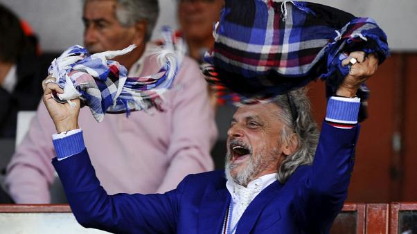 Italian police investigate Sampdoria, its president over funds
