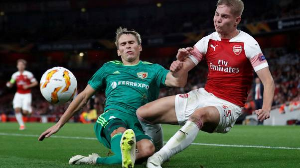 Arsenal's Europa clash with Vorskla in doubt after venue change