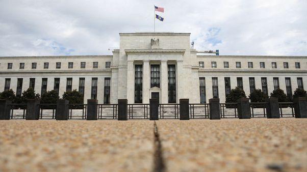 "Fed's Powell: Financial risks ""moderate"" despite vulnerabilities"