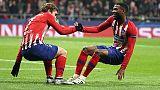 Champions: Atletico Madrid agli ottavi