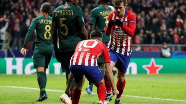 Atletico ease into last 16 with win over hapless Monaco