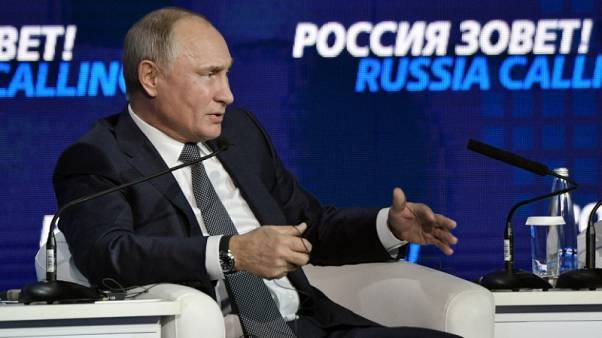 Twitter suspends account it says impersonated Russia's Putin